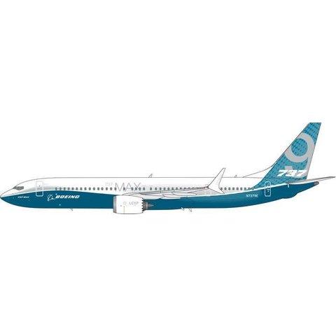 B737 MAX9 Boeing House Livery N7379E 1:400