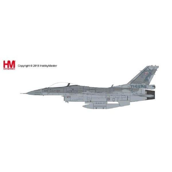 Hobby Master F16C Block 52 Polish Air Force Tiger Meet 2011 1:72