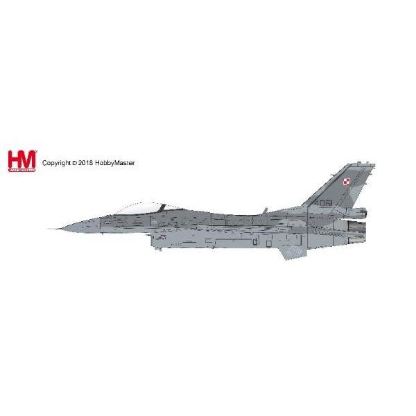 Hobby Master F16C Block 52+6 Sqn.Polish AF 4061 April 2016 1:72