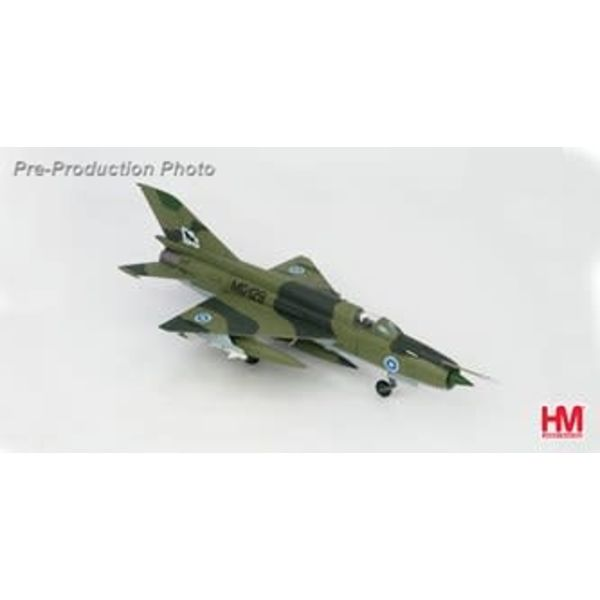 Hobby Master MiG21 BIS Fishbed 31st FS Kuopio MG-129 Airbase Finland 1980 1:72