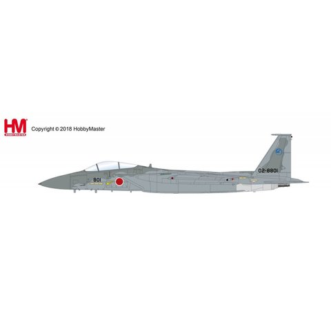 F15DJ Eagle JASDF 02-8801 1:72 with stand