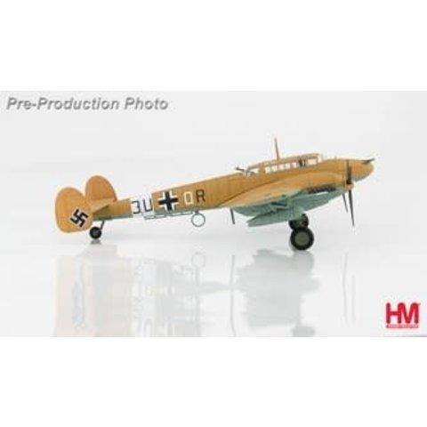 BF110E7 7./ZG 26 Luftwaffe 3U+OR Libya 1942 1:72