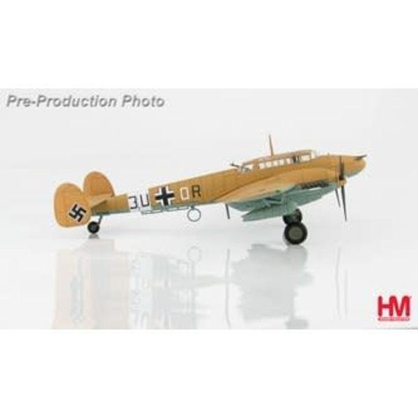 Hobby Master BF110E7 7./ZG 26 Luftwaffe 3U+OR Libya 1942 1:72