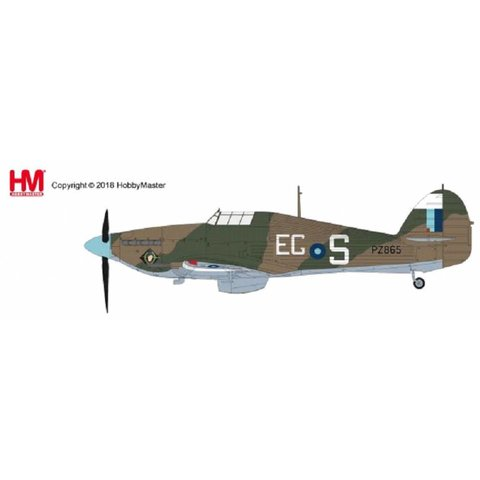 Hurricane IIc PZ865 RAF Battle of Britain Memorial Flight BBMF EG-S 2016 1:48 with stand