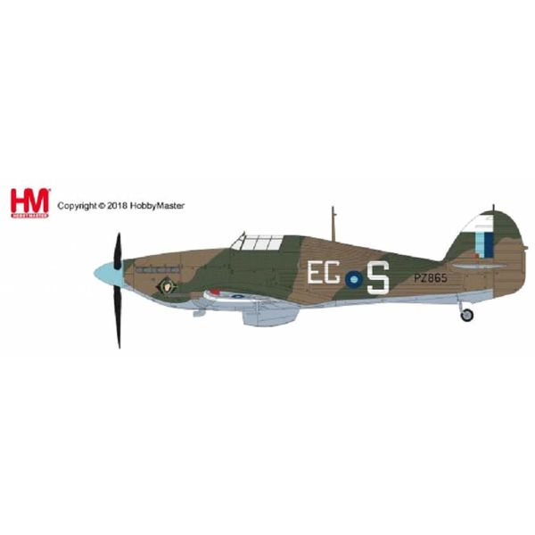 Hobby Master Hurricane IIc PZ865 RAF Battle of Britain Memorial Flight BBMF EG-S 2016 1:48 with stand