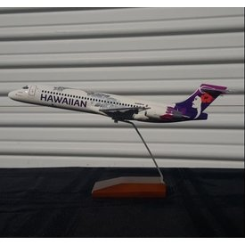 Gemini Jets B717 Hawaiian New Livery 2017 N488HA 1:100 with stand