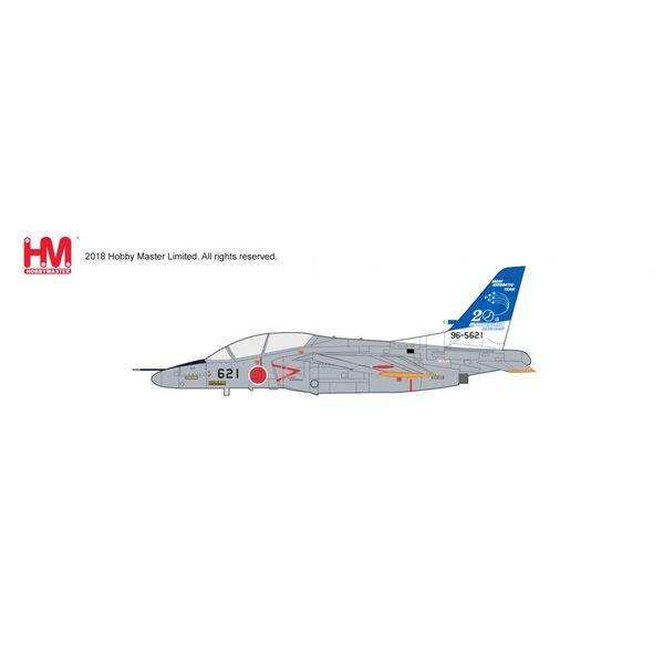 Hobby Master T4 JASDF Aerobatic Team Blue Impulse 20th Anniversary 2016 4th AW 11 Hikotai Matsushima AB 2016 1:72 with stand