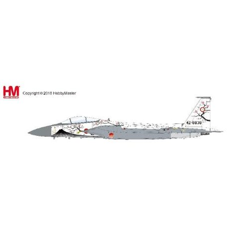 F15J Eagle JASDF 50th Anniversary Scheme 2004 Mount Fuji Livery 42-8838 1:72 with stand
