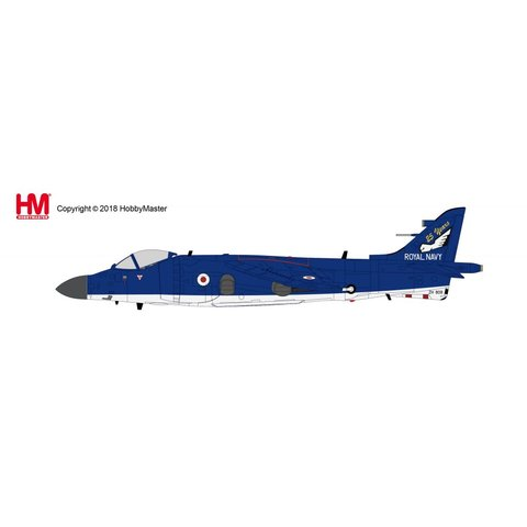 Sea Harrier FA2 899 NAS Admiral's Barge 25 Years Anniversary Special 2004 1:72