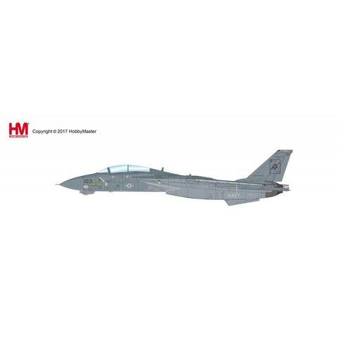 F14A Tomcat VF41 USS Enterprise 158612 Delores Oct 2001 1:72