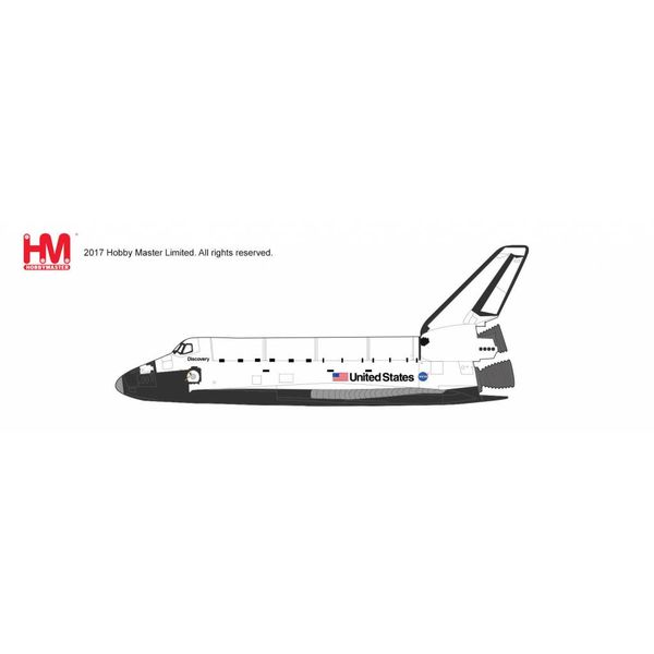 Hobby Master Space Shuttle Discovery NASA John Glenn OV-103 October 29 1998 1:200