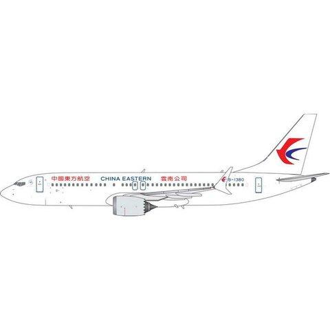 B737 MAX8 China Eastern B-1380 1:400