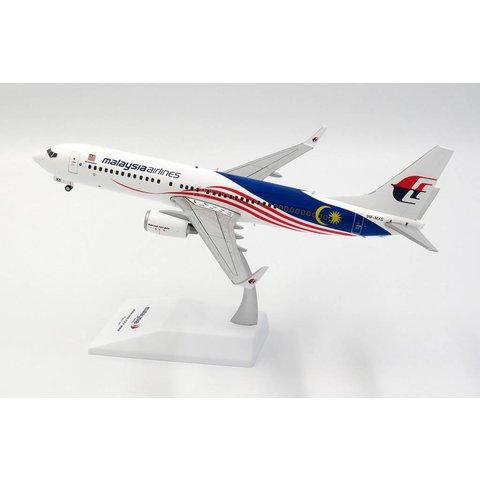 B737-800W MALAYSIA AIRLINES NEGARAKU 9M-MXS 1:200