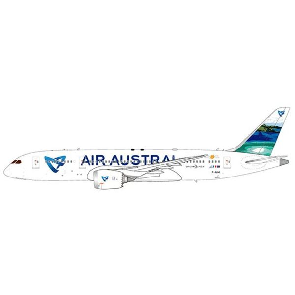 JC Wings B787-8 Air Austral F-ORLC w/Stand 1:200