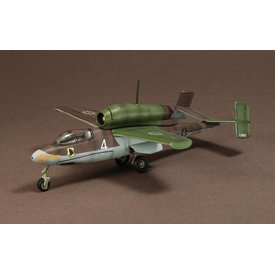 WarMaster HE162 Jagdgruppe JG1 Squadron Luftwaffe Germany 1945 1:72 with stand