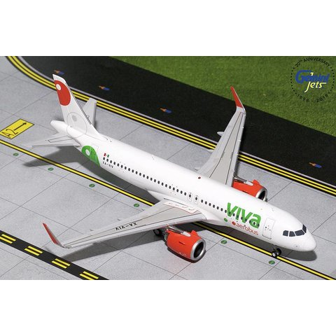 A320neo VivaAerobus XA-VIV 1:200 with stand