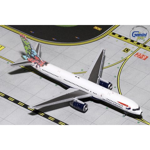 B757-200 British Airways Animals/Trees G-CPEL 1:400