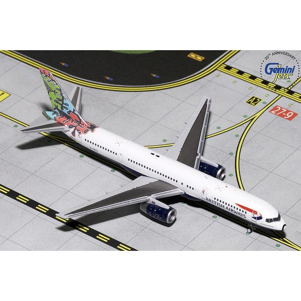 Gemini Jets B757-200 British Airways Animals/Trees G-CPEL 1:400