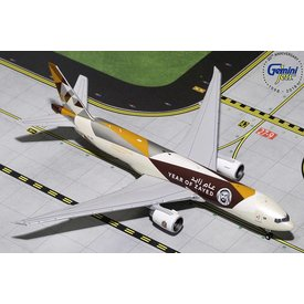 Gemini Jets B777F Etihad New Landor Livery 2014 Year of Zayed A6-DDE 1:400