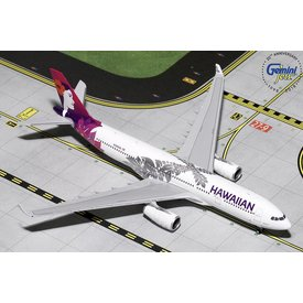 Gemini Jets A330-200 Hawaiian new livery 2017 N380HA 1:400 (10th release)