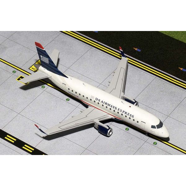 Gemini Jets ERJ170 US Airways Express 2006 final livery N803MD 1:200 with stand