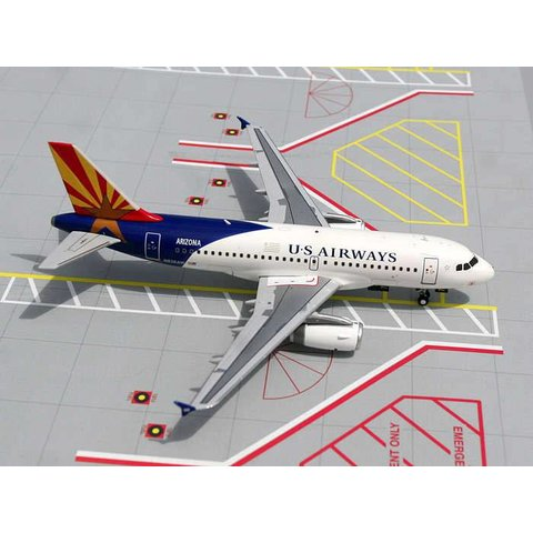 A319 US Airways Arizona One livery 1:200 with stand