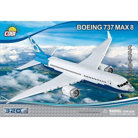 Boeing 737 MAX8 Cobi Construction Toy 320 pieces