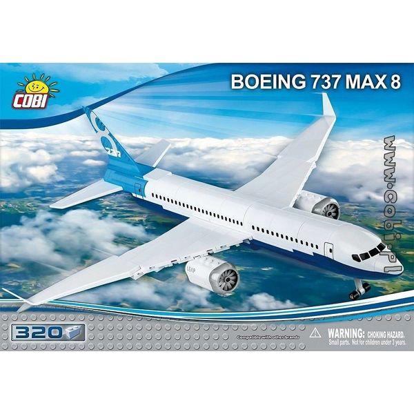 Cobi Boeing 737 MAX8 Cobi Construction Toy 320 pieces