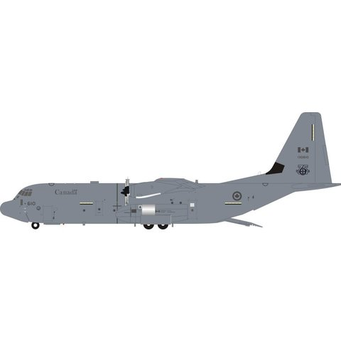 CC130J Super Hercules RCAF 436 Squadron 75th 130610 grey 1:200 With Stand