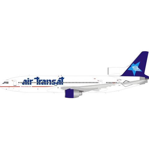 L1011-385 TriStar 100 Air Transat 1999 Star Cloud Livery C-FTNL 1:200 with stand