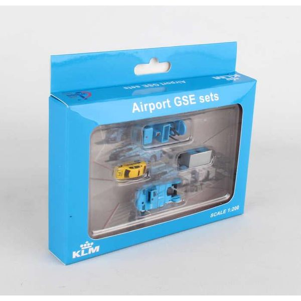 JC Wings GSE KLM Set 2; mover,cart, watertruck 1:200++SALE++