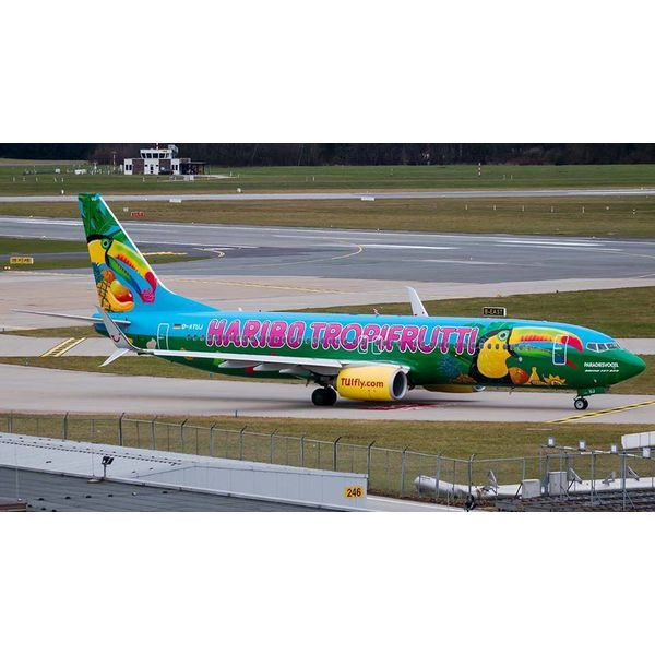 JC Wings B737-800W Tuifly tropifrutti D-ATUJ 1:200 with stand++SALE++