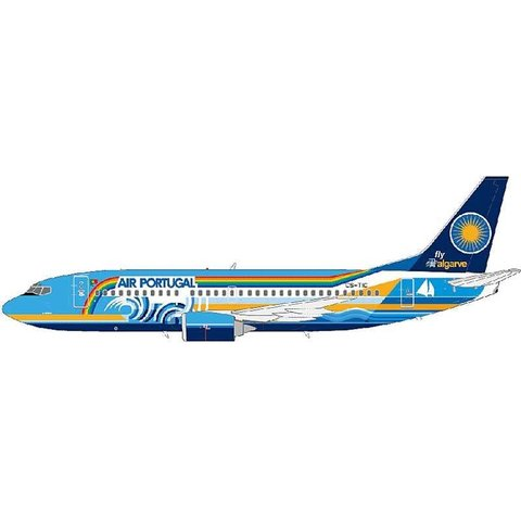 B737-300 TAP Air Portugal Algarve CS-TIC 1:200 with stand**SALE++