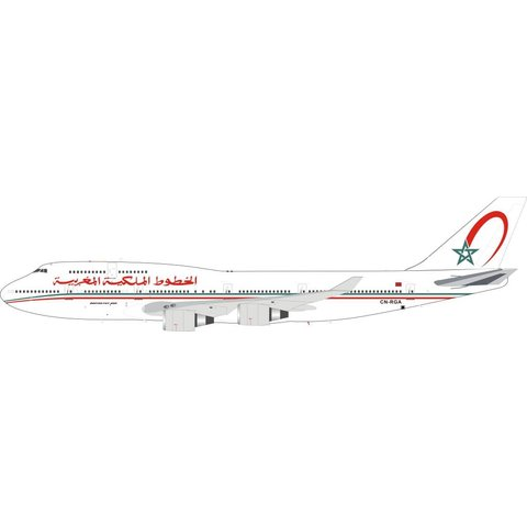 B747-400 RAM Royal Air Maroc CN-RGA 1:200 with stand