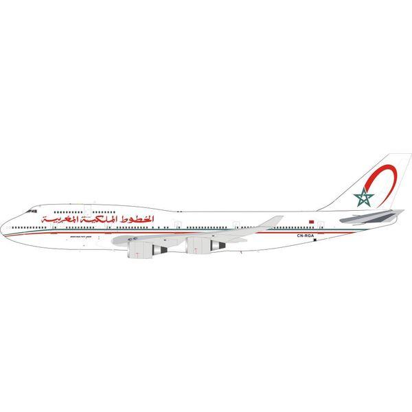 InFlight B747-400 RAM Royal Air Maroc CN-RGA 1:200 with stand