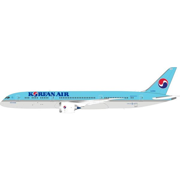 InFlight B787-9 Dreamliner Korean Air HL8084 1:200 with stand