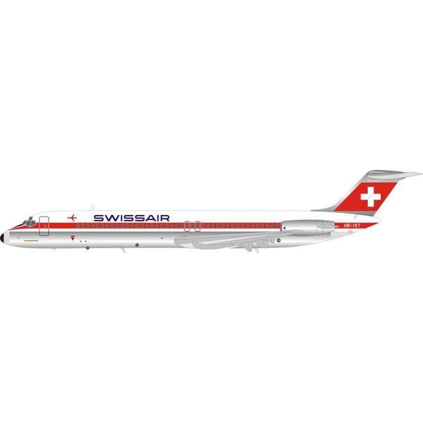 InFlight DC9-50 Swissair HB-IST 1:200 with stand