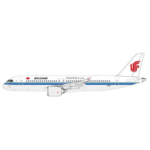 JC Wings C919 COMAC Air China 1:400 with antennae