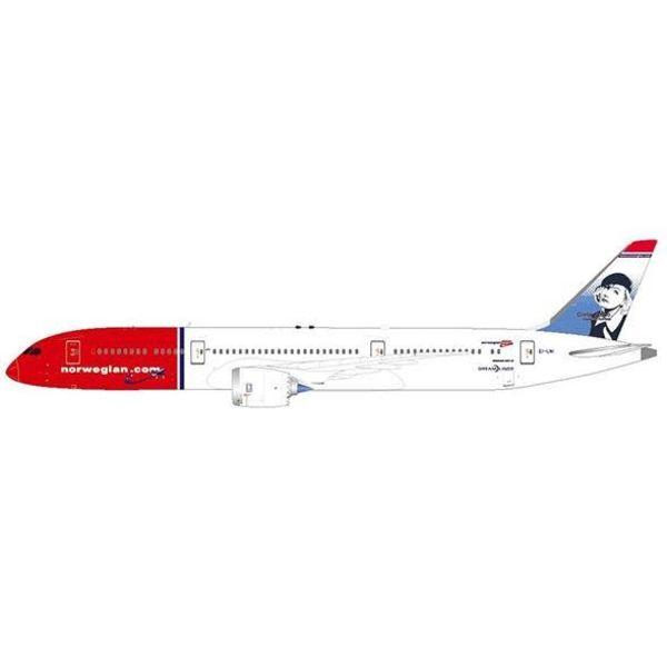 JC Wings B787-9 Dreamliner Norwegian Greta Garbo EI-LNI 1:200 with Stand