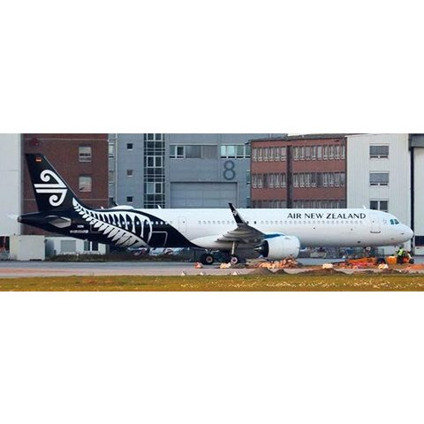 A321neo Air New Zealand 2014 livery ZK-NNB 1:200 with Stand