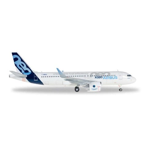 Herpa Airbus House A320neo 1:200 with stand