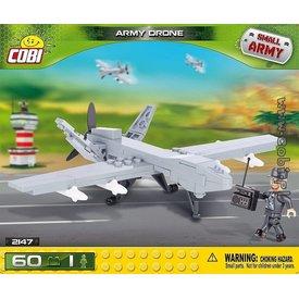 Cobi RCAF Drone Small Army Predator grey Cobi