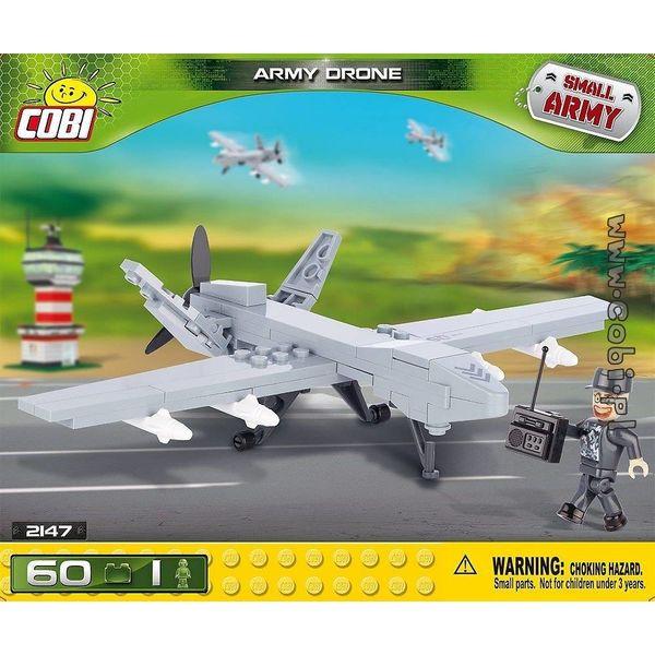 Cobi RCAF Drone Small Army Predator grey Cobi (60 pieces)