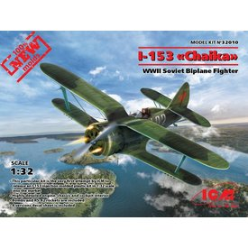 ICM MODEL KITS ICM Polikarpov I-153 Chaika 1:32 New Mould !
