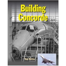 Crecy Publishing Building Concorde hardcover
