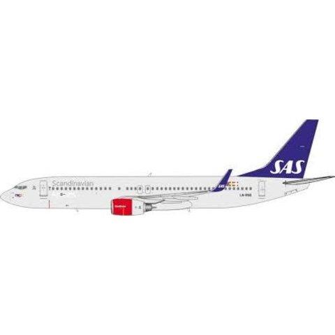 B737-800W SAS Scandinavian LN-RGE 1:400