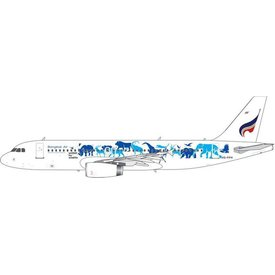 Phoenix A320 Bangkok Airways United Wildlife Fund HS-PPH 1:400