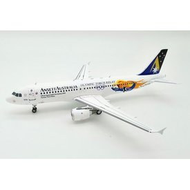 InFlight A320 Ansett Australia Olympic Torch Relay VH-HYN 1:200 with stand