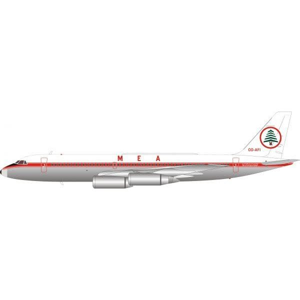 InFlight CV990 MEA Middle East Airlines OD-AFI 1:200 polished with stand