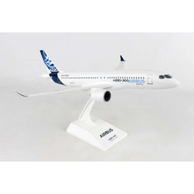 SkyMarks A220-300 (CS300) Airbus House Livery C-FFDO 1:100 with stand